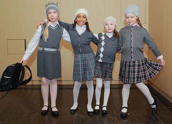 Как одеть ребенка в школу и не потеряться в серой массе.